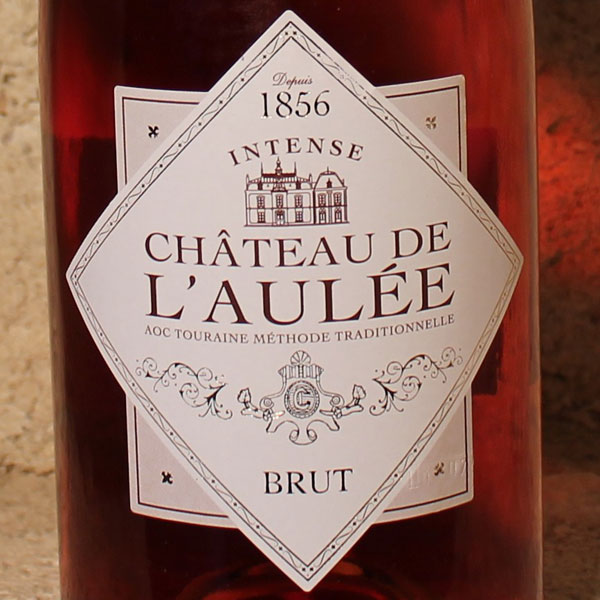 AOC Touraine Méthode Traditionnelle Brut Rosé Intense