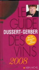 Guide Dussert-Gerber des Vins de France 2008