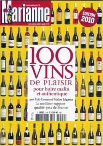 """Hors série Marianne """"100 vins de plaisir"""" - juin 2010"""