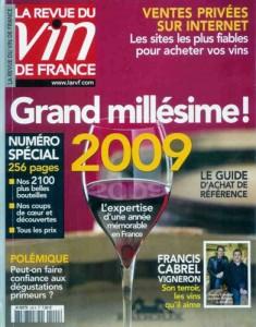 La revue du vin de France - numéro spécial juin 2009
